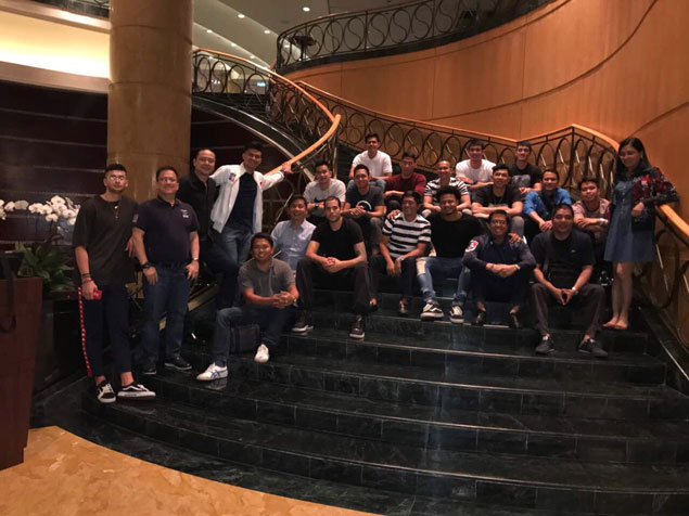 PBA board flies to KL to extend support for Gilas, PH contingent in SEA Games
