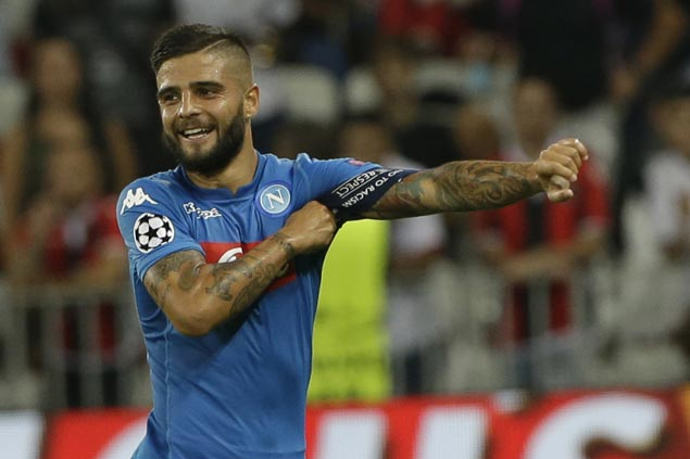 Lorenzo Insigne powers Napoli past Udinese and into Italian Cup quarterfinals