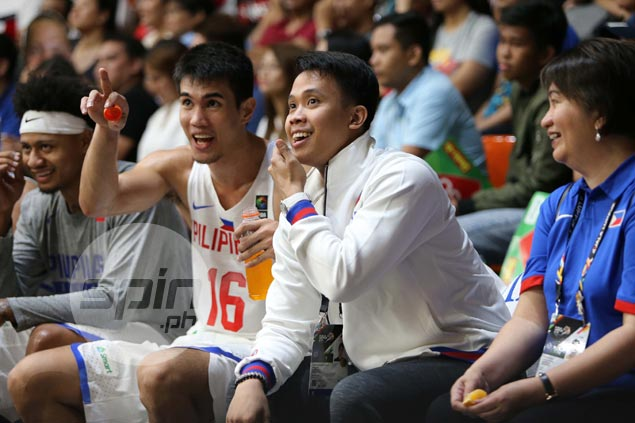 Baser Amer a game-time decision in Gilas match vs Malaysia due to injured thigh