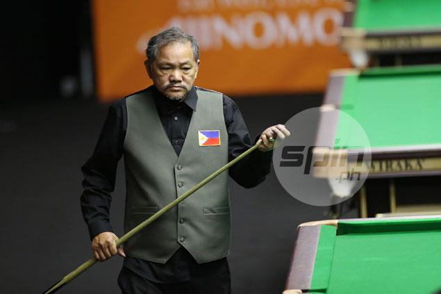 Bata Reyes through to English billiards Last 8 but touted Orcullo-Kiamco tandem falls