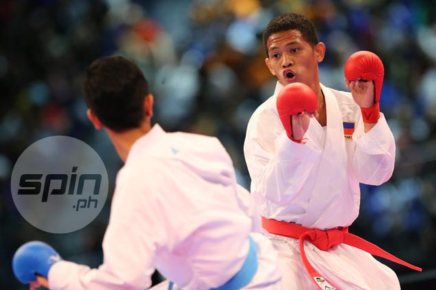 PH karateka John Paul Bejar reaches final after protest upheld, but fails to capitalize