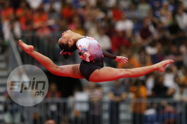 Gymnastics golden girl Kaitlin de Guzman adds to medal haul after winning silver, bronze in SEAG