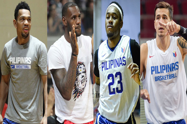 LeBron James to be playing-coach in game pitting current and former Gilas players