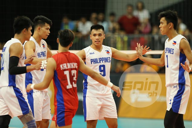 PH men's spikers' gallant stand falls short as Indonesia grinds out win to reach SEAG semis