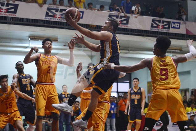JRU Bombers down Stags at San Sebastian to stretch win streak to three games