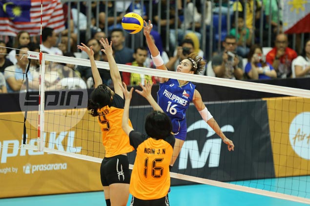 Philippine women's volleyball team routs Malaysia, seals place in SEA Games semifinals