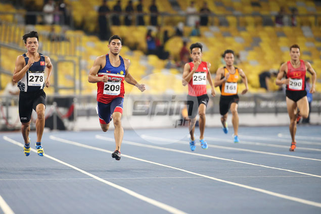 Anthony Beram becomes Philippines' first double-gold winner by ruling 400m run