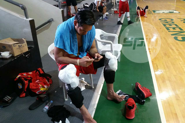 Fajardo sees no need to defend self or appease bashers over Fiba Asia Cup injury