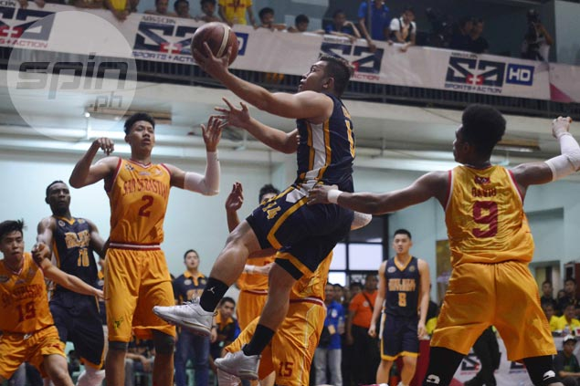 Teytey Teodoro responds to JRU coach Meneses' challenge with killer threes vs Stags