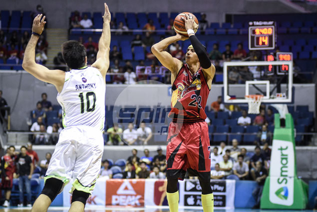 Arwind Santos catches fire as rusty San Miguel still does enough to outlast GlobalPort