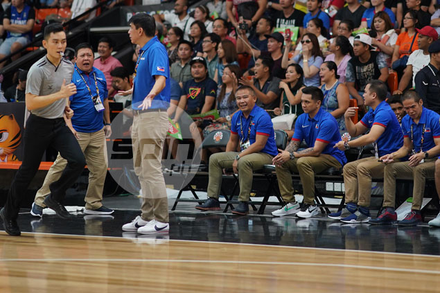 Chot Reyes warns Gilas performance vs Singapore 'won't get job done' in final