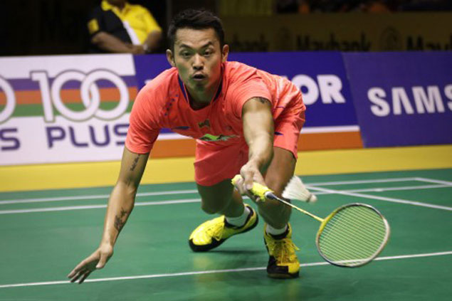 Lin Dan three wins away from another world championship but Shi Yuqi sent crashing