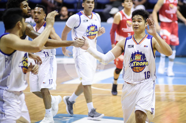 Weary Roger Pogoy says rest can wait as rookie guard aids cause of shorthanded TNT
