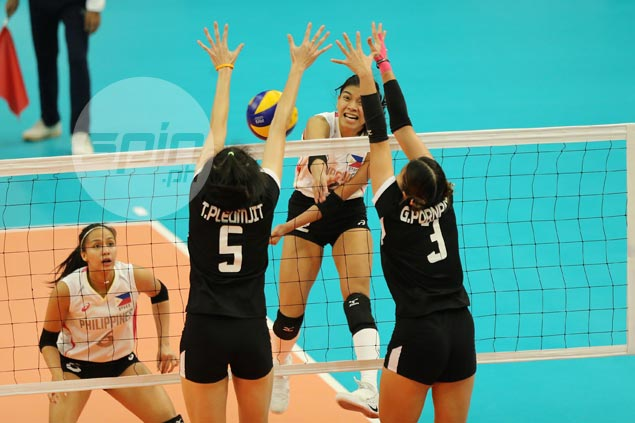 Powerhouse Thailand ends hopes of Philippine volleyball team in straight sets