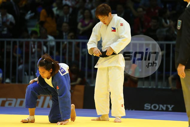 Fil-Japanese judoka Kiyomi Watanabe completes golden treble in SEA Games