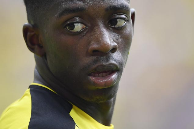 Looking to boost offense after Neymar exit, Barca buys Dembele from Dortmund for US$124M