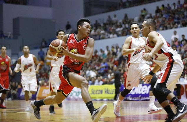 Ginebra adds to Alaska frustrations, spoils Dondon Hontiveros tribute with wire-to-wire win in Cebu