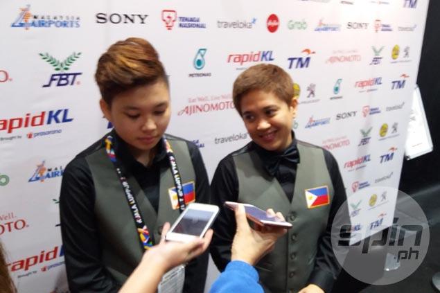Chezka Centeno, Rubilen Amit arrange repeat of all-Filipina final in SEA Games 9-ball