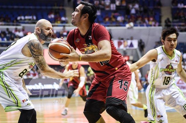 Leo Austria glad to keep June Mar Fajardo fresh for bigger battles ahead for both SMB, Gilas