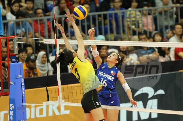 Vietnam fights back from a set down to deny Philippines a medal in SEA Games women's volleyball