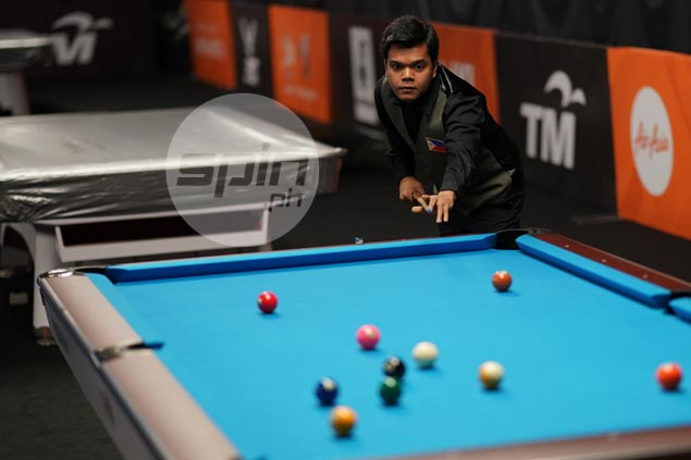 In-form Carlos Biado beats Vietnamese foe, completes PH sweep of 9-ball gold medals