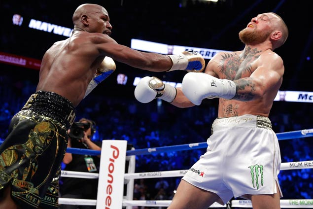 Mayweather glad to give fans a fine performance: 'I owed them for the Pacquiao fight'