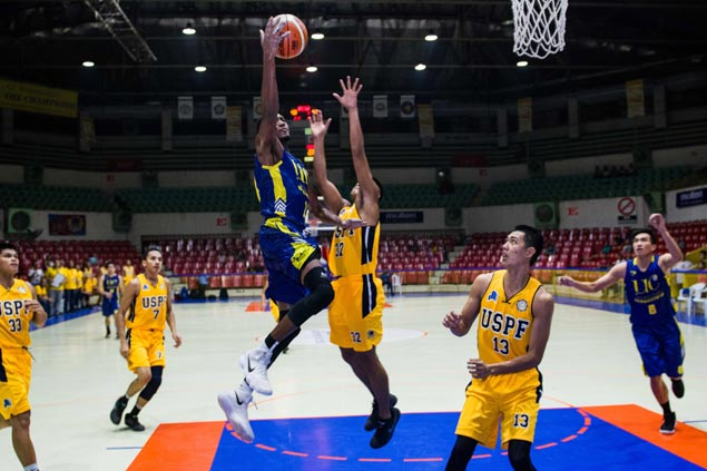 Elombi's monster double-double leads UC Webmasters past USPF in overtime thriller
