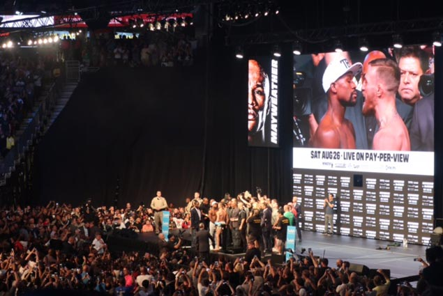With the weight of expectations, Mayweather and McGregor need to deliver the goods