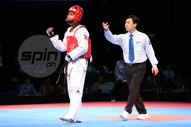 Philippines files protest after Arven Alcantara disqualification from taekwondo featherweight final