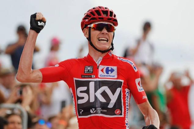 Chris Froome dominates time trial to extend lead in Vuelta a Espana