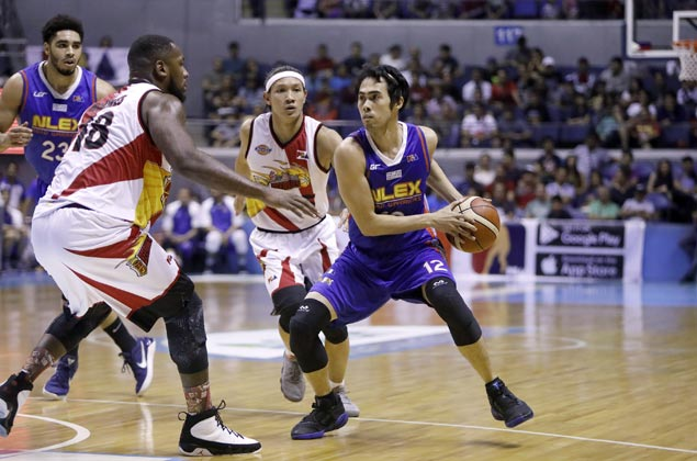 Larry Fonacier picked PBA Player of the Week after solid game for NLEX against San Miguel