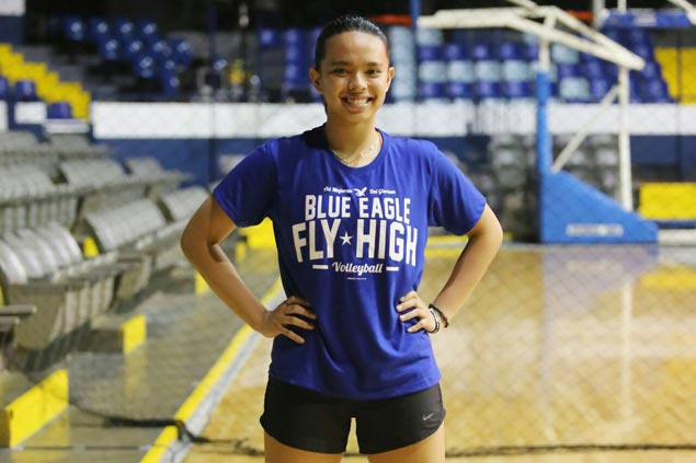 Dani Ravena set to make Ateneo Lady Eagles debut as setter in PVL Collegiate Conference