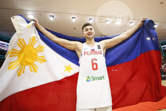Kobe Paras looks forward to more Gilas stints: 'Nothing will ever compare to playing for the country'