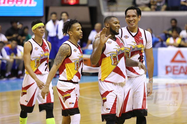 Chris Ross plays down NLEX as legit SMB grand slam threat: 'We're playing against ourselves'