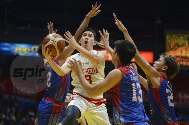 Red-hot San Beda rides second-quarter blitz to deal Arellano a 25-point drubbing