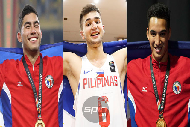 Philippine poster boys Paras, Marvin, Beram show they're more than just good looks
