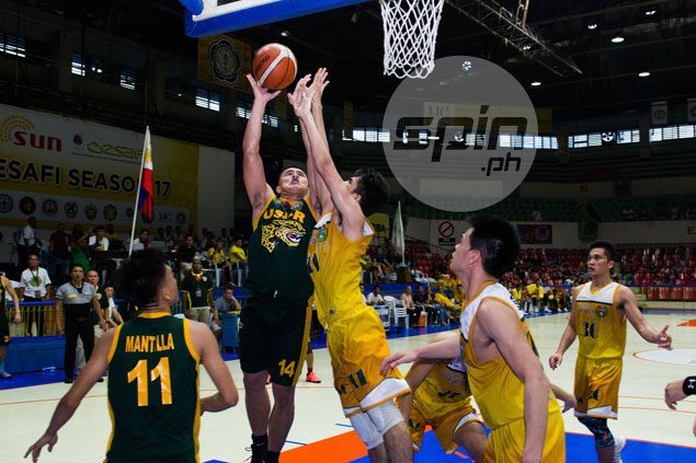 USJR Jaguars rally late to hand USC Warriors first loss in Cesafi