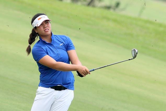 Pauline del Rosario carries three-stroke lead into final round in Lubao stop of LPGT