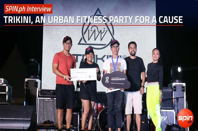 Trikini throws a unique urban fitness party for a worthy cause. WATCH