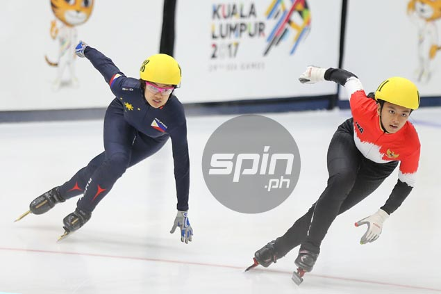 PH campaign ends with a whimper as Kathryn Magno finishes fourth in SEAG speed skating