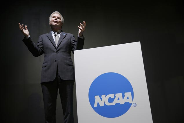 Japanese sports leaders get advice from NCAA chief on forming collegiate league