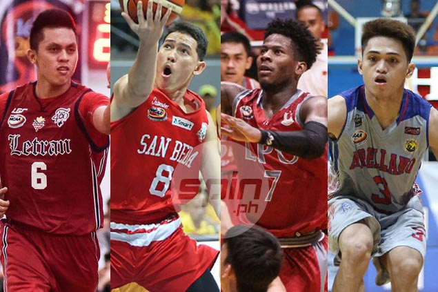 Rivals Nambatac, Bolick team up for Saints squad vs CJ Perez-led Heroes in NCAA All-Stars
