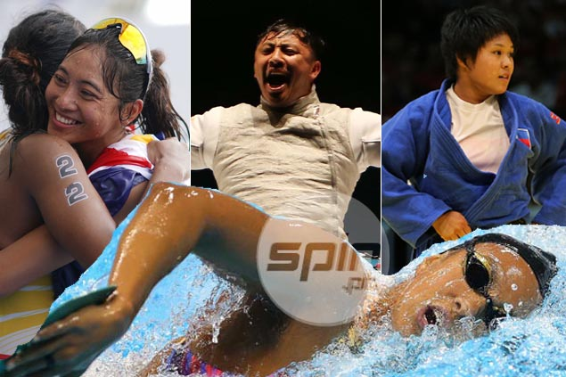 Triathlon, judo lead PH achievers in SEA Games as swimming sinks to new depths