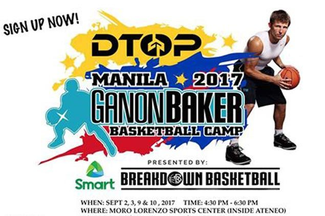World-renowned basketball skills coach Ganon Baker to hold four-day camp in Manila