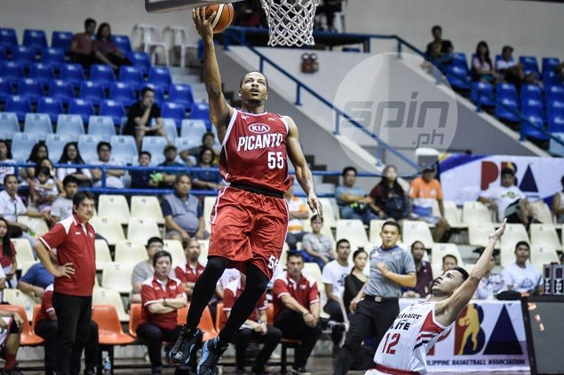 New KIA import Geron Johnson came in not knowing he was joining a winless squad