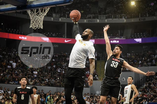RDO takes LeBron poster dunk at his expense in jest: 'Naging popular si LeBron dahil sa'kin'