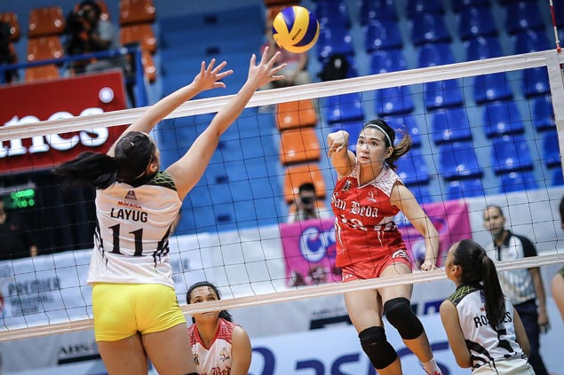 San Beda overcomes TIP Lady Engineers in four sets in PVL Collegiate Conference opener