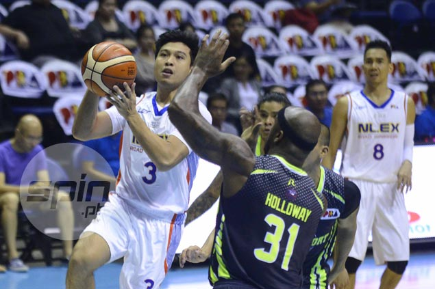 Juami Tiongson, Aaron Fuller deliver as fiery NLEX outduels shorthanded GlobalPort