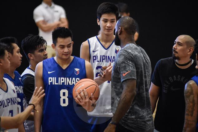 Kai Sotto savors chance to share court with LeBron - almost links up on alley-oop
