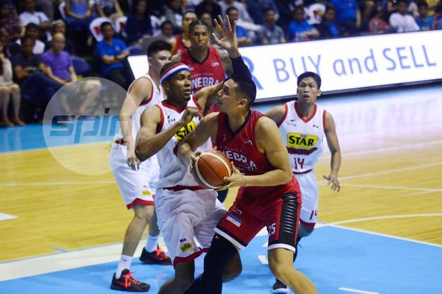 Aguilar thanks teammates for bailing him out after late foul on Hill nearly costs Ginebra